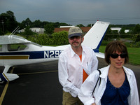 Kay & Ron at the Airshow