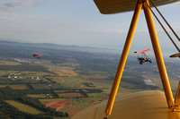 Tom and Steve from the Stearman